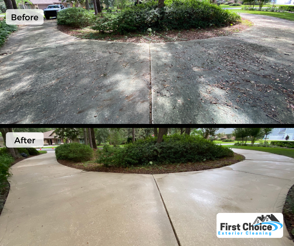 pre and post treating concrete