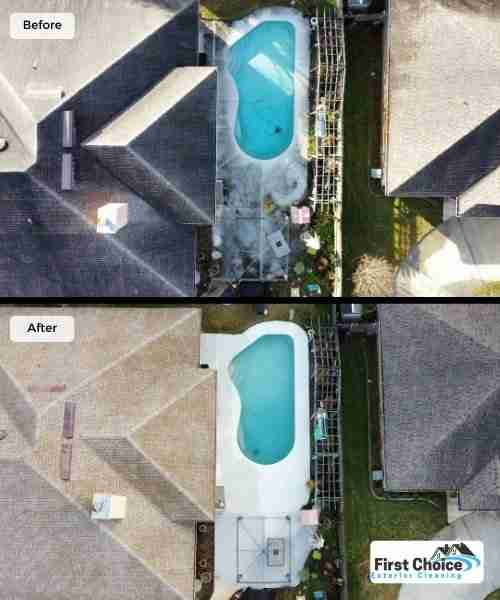 low-pressure roof cleaning jacksonville florida