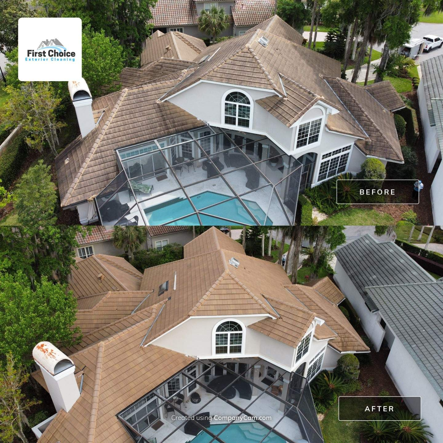 ponte vedra beach fl roof cleaning